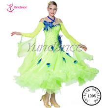 Flower Children New Arrival Modern Waltz Tango Performing Dress B-12264