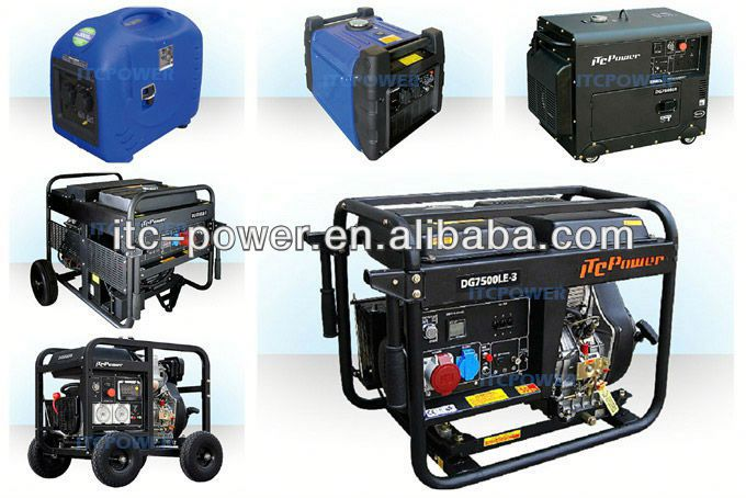ITC-Power Diesel Generator Set,air-cooled,water-cooled.gasoline generator electric supplier of power