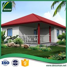 DESUMAN export to usa Sudan wind and earthquake resistance light steel house construction