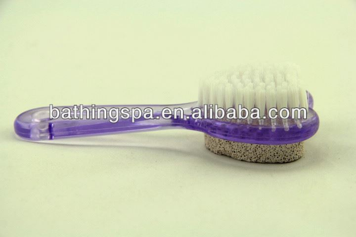 Hot selling nail brush with pumice stone