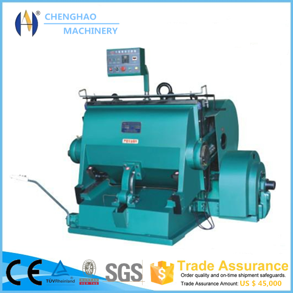 CHENGHAO ML Series used die cutting machine Trade Assurance