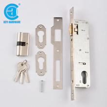 Heavy Duty Gate Lock Cylinder Profile Mortise Door Lock Body With Key