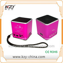 mini speaker cassette---KZY mini--it goes where you-go!