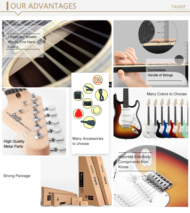 Wholesale cheap high quality electric guitar/ guitar electric