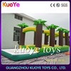 jungle water slip toys,family water games,backyard inflatable water toys