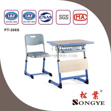 Adjustable Single Desk & Chair,School Furniture,Classroom table and chair