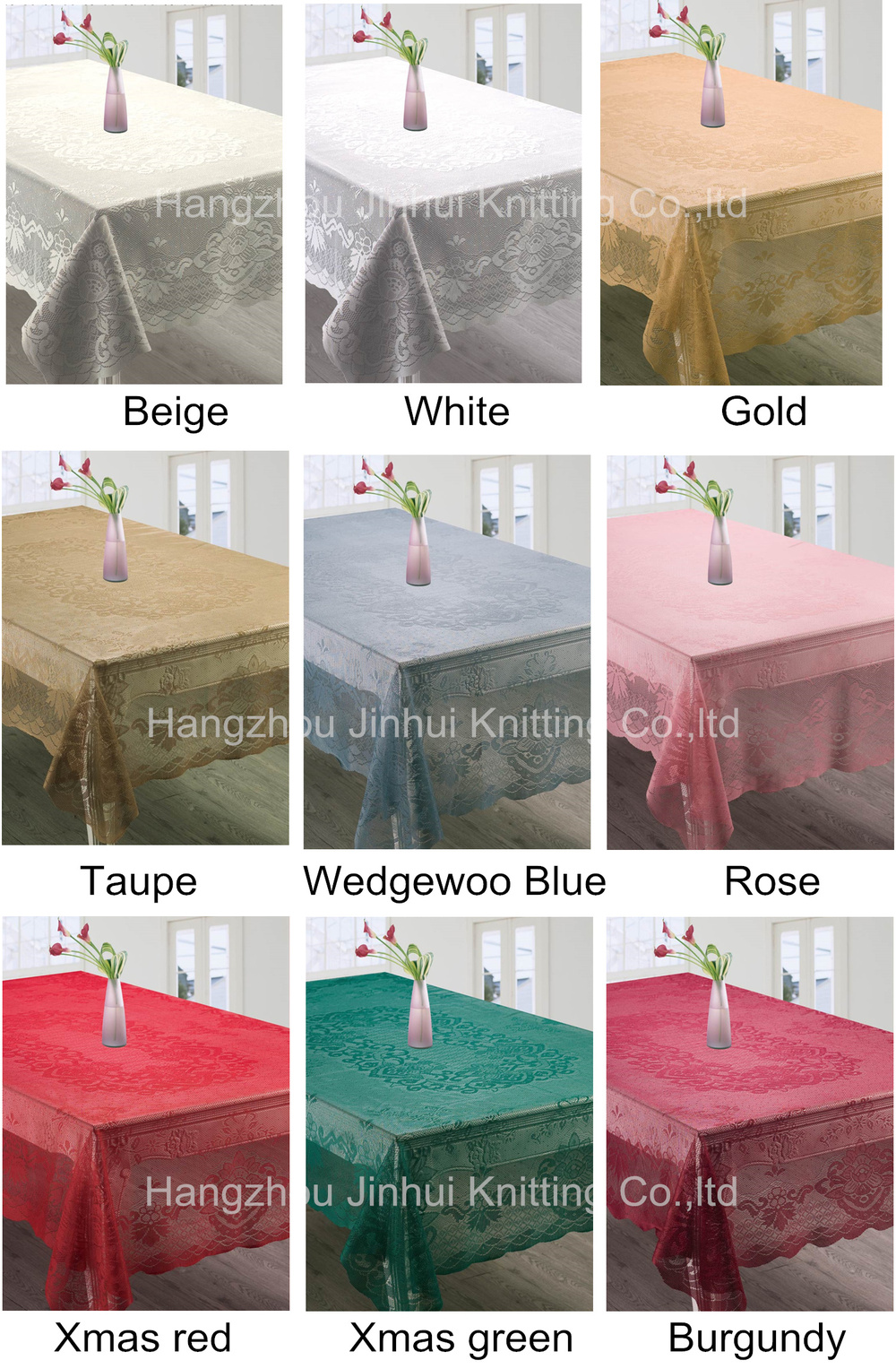 Xmas holiday lace tablecloths/ Christmas table cloth / table cloth