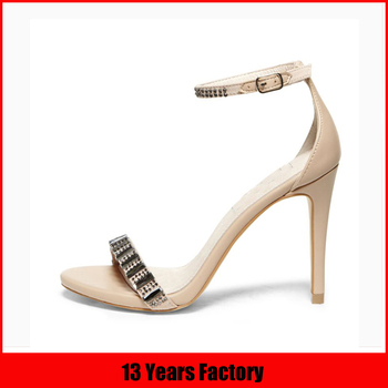 2015 fashion sandal high heel party /prom women summer shoes