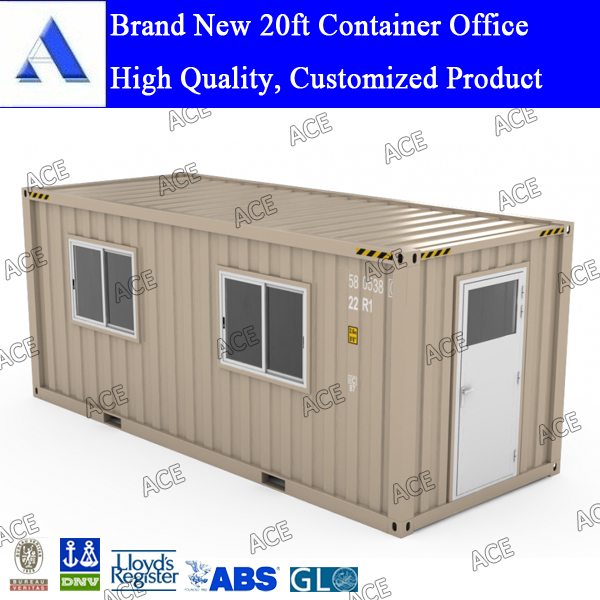 New and used 20ft shipping container office modified as per your requirement
