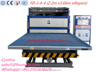 laminated glass machine with EVA film smart film for bending tempered laminated glass