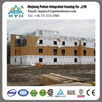 earthproof morden steel structure prefabricated apartment building