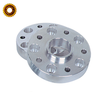 Custom CNC Machining Parts Anodized Aluminum Pipe Flange Spacers