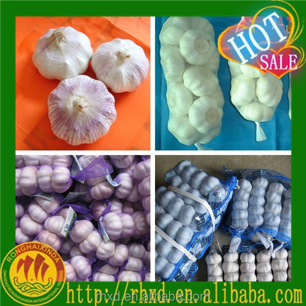 China Market Pink Garlic Price Of Natural Garlic