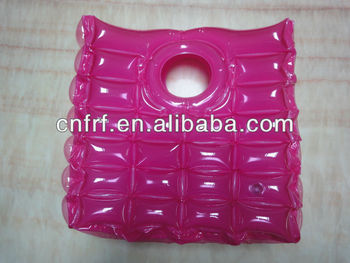Inflatable bubble Hand Bag in red