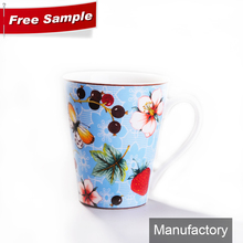 2013 newest product white ceramic porcelain stoneware mug cup with your logo