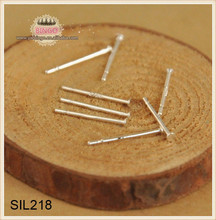 Silver Head Pins, Sterling Silver .925 Head Pins All Lengths, Domed Heads