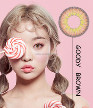 Low packing Goody Yearly Korean color contact lens power lens
