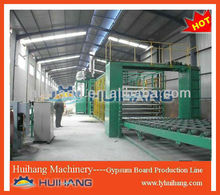 Decoration gypsum board production line