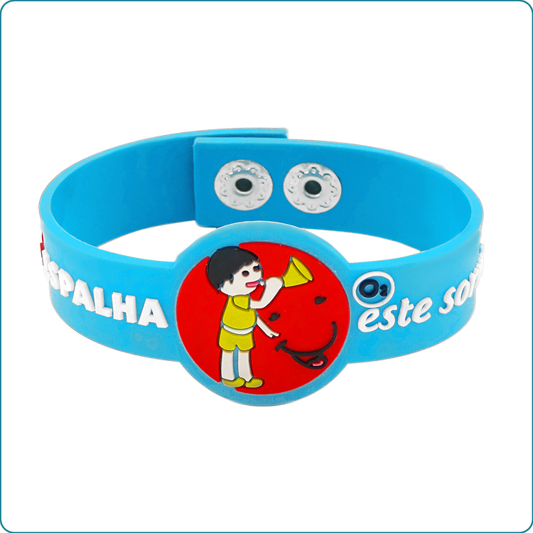 Watch shape silicone bracelets promotion gifts silicone wristbands