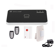 Wireless gsm alarm system for home security with pir sensor