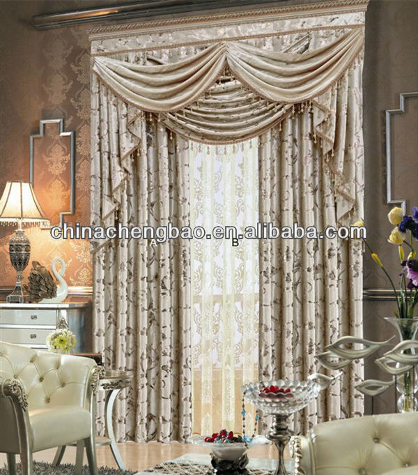 Elegant Curtain For Living Room With Bedroom Fancy Valance Buy