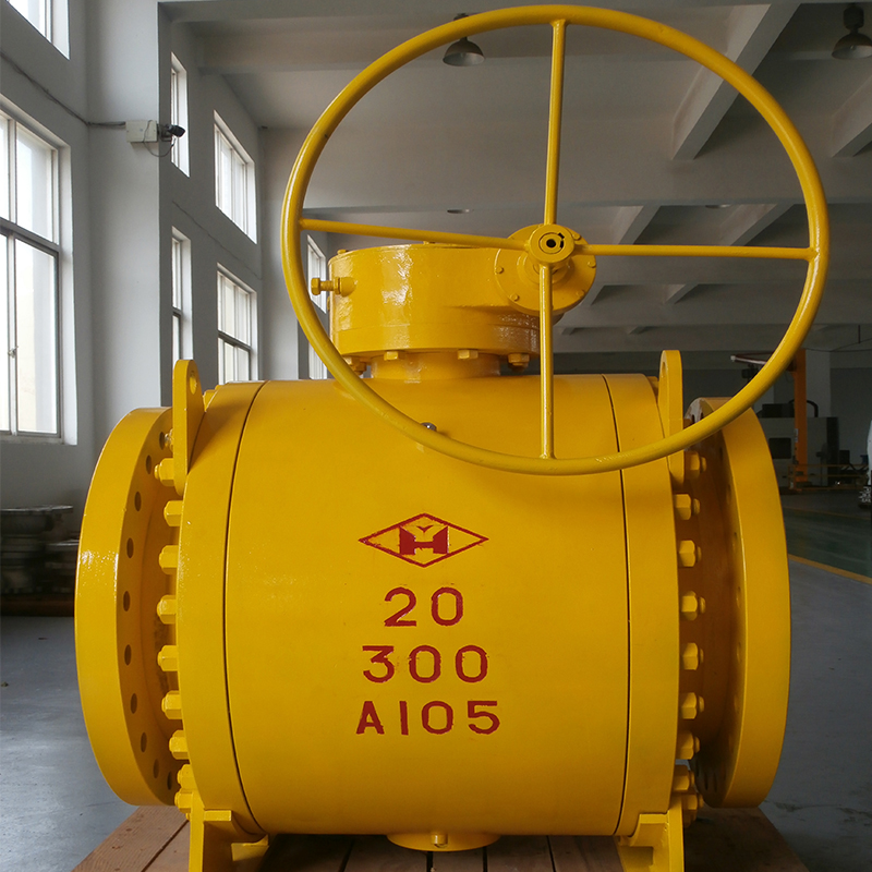 Small Best Selling Trunnion Ball Valve