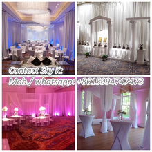 wedding decoration ceiling drape party hall decoration