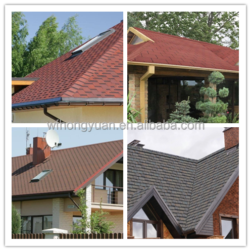 high quality architectural asphalt shingles for slope roofs