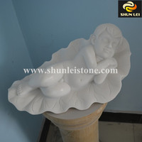 Small stone baby sculpture/stone baby statue