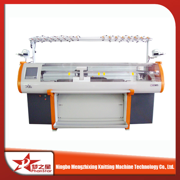 knitting machine for ropes