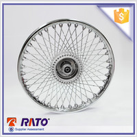 18 inch factory direct motorcycle rear aluminum rim wheel for CG125