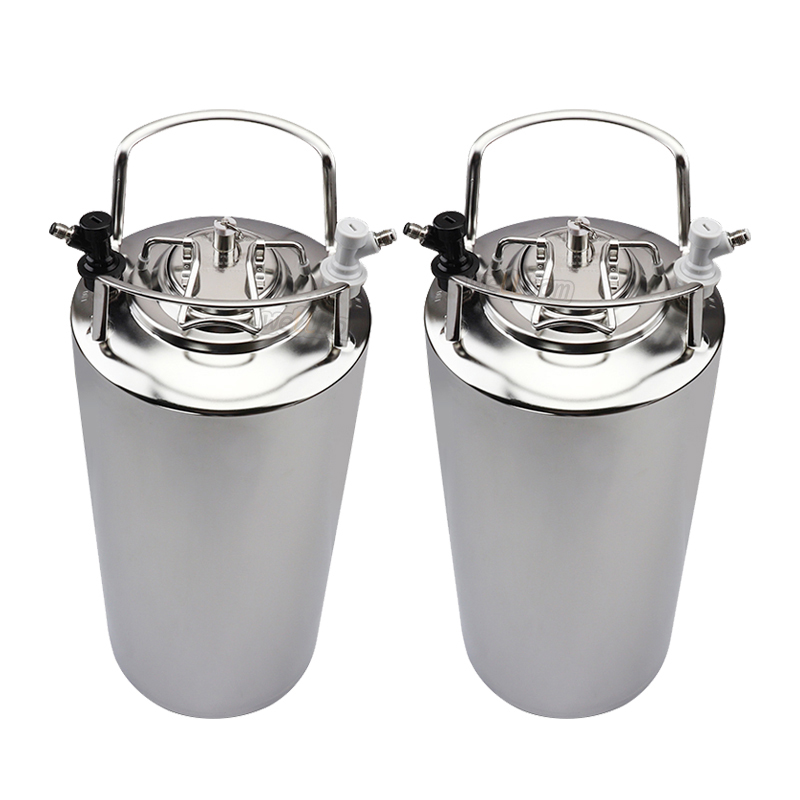 Two 5 Gallon Kegs Fridge Assembly Kit