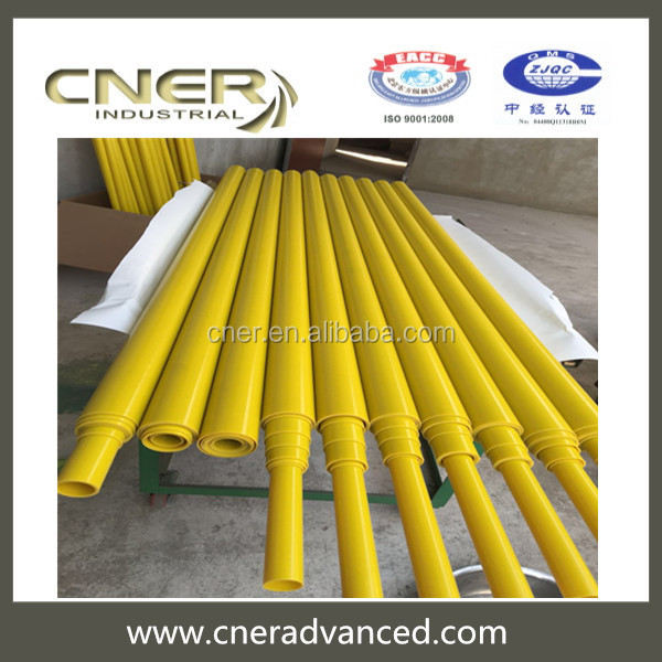 Brand Cner Pultrusion and clear fiberglass rectangle tubing with different colours