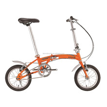 Steel folding bicycle, model FL100, 16 inch single speed foldable bike made in china, bicicleta dobravel