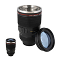 stainless Steel Liner Camera Lens Cup Mug EFS 28-135mm F4 Filter for Coffee Milk Water