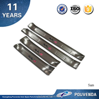 High Quality Aluminium Alloy door sill plate for 2013+ Toyota RAV4 scuff foot steps (8pcs)