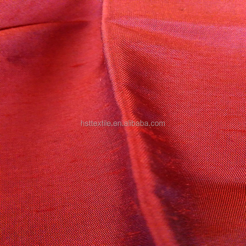21mm raw silk dupioni fabric