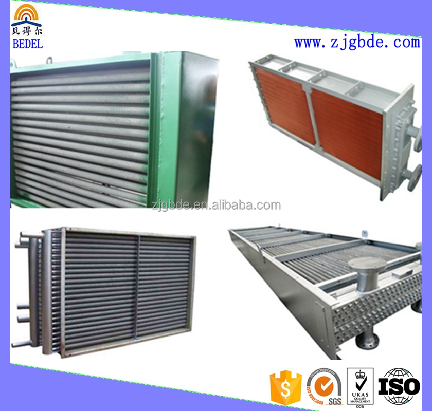 fin tubes with aluminum or copper fins in aie cooler