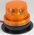 LED flash rotating beacon light for school buses , trucks 10-110V DC LED beacon warning light