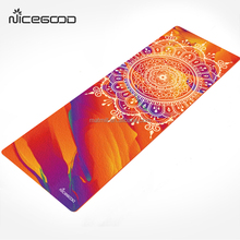 Private label print colorful rubber yoga mat custom label with yoga mat bag