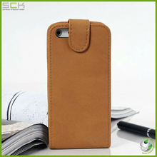 Flip leather case cover for iphone 5c for iphone mini cover for Germany