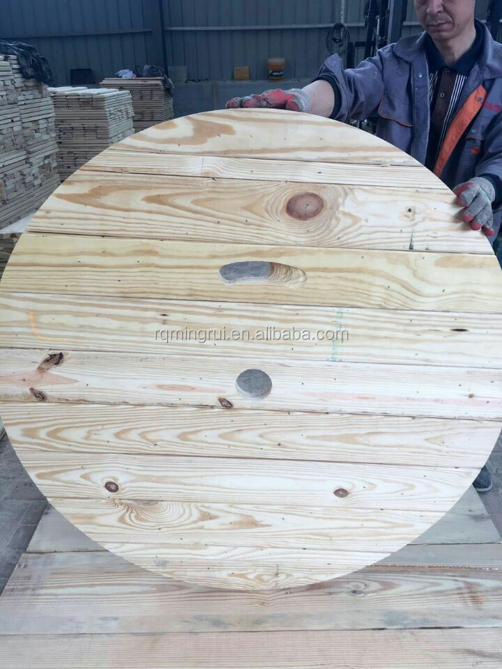 Empty Industrial Wooden Cable Spools For Sale