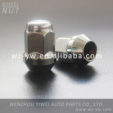 auto parts zinc finished Wheel hub nut