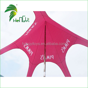 So Funny Eye-catcher Durable Outdoor Activity Small Custom Star Shade Tent