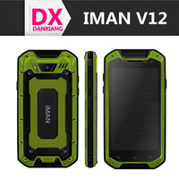 Quad Core Rugged Phone iMAN V12 8GB ROM Waterproof Dustproof Shockproof SmartPhone 4.5 Inch 3G Android 4.2 MTK6589T