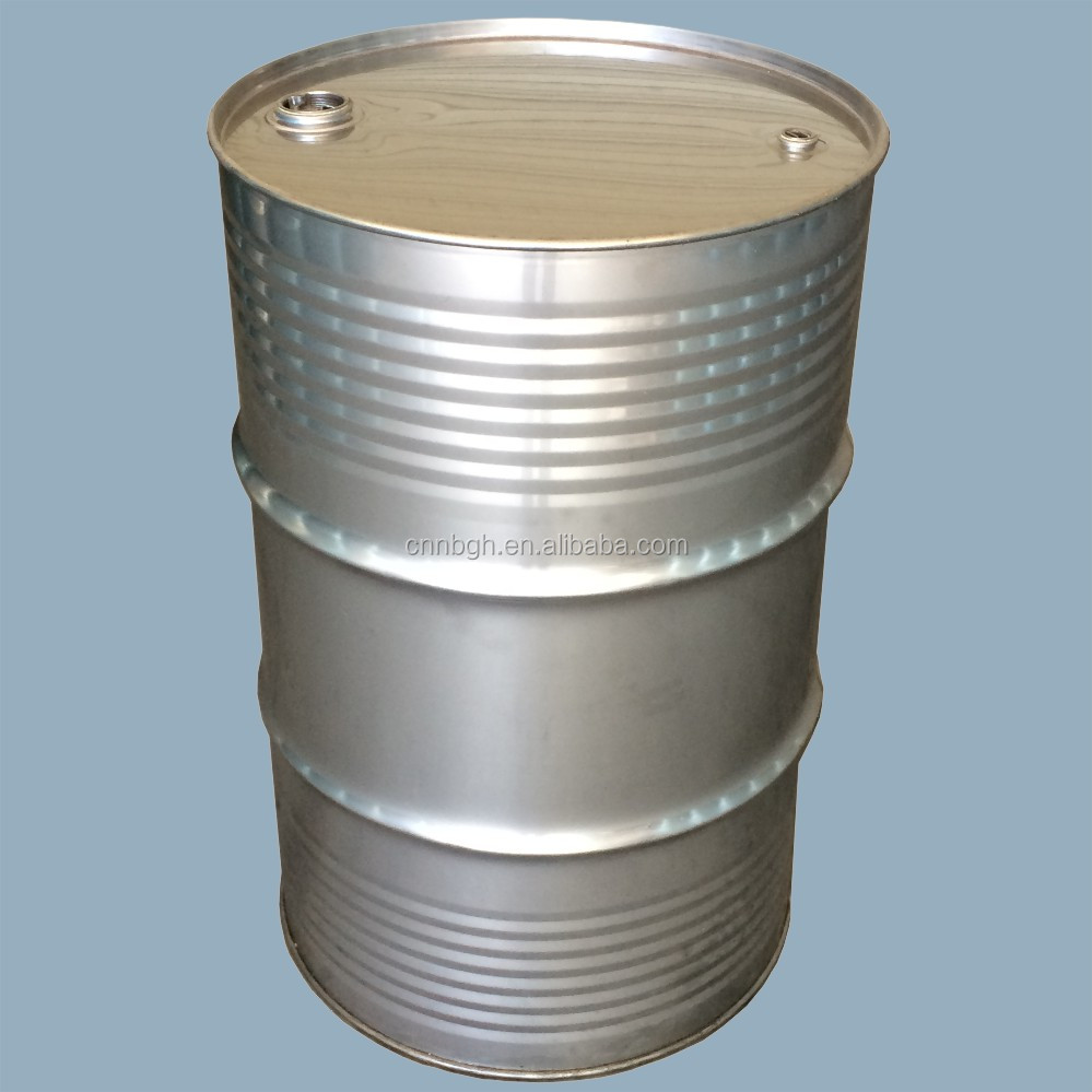 55 gallon closed-head 316L stainless teel drum