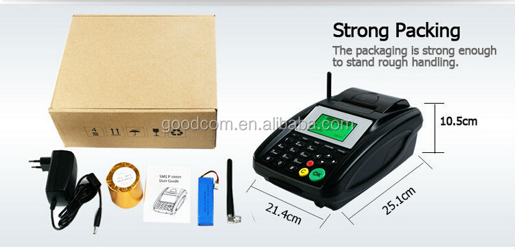 GOODCOM GSM Printer with GPRS and SMS for online ordering and takeaway hot selling