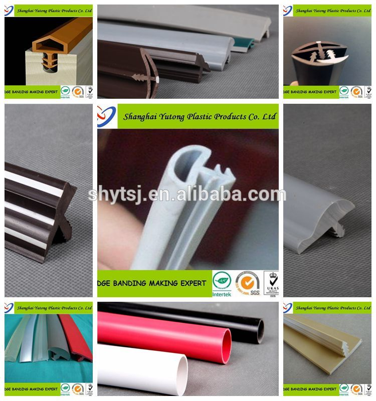 Extruded U Shaped Edge Banding Trim Shanghai Factory for Countertop Edging