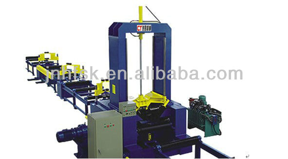 gantry automatic submerged arc welding, assembling h beam welder