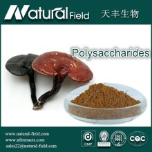 Factory Supply Reishi Mushroom Extract 10%-50% Polysaccharides Powder